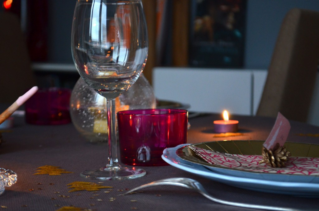 Table de Noël Prune