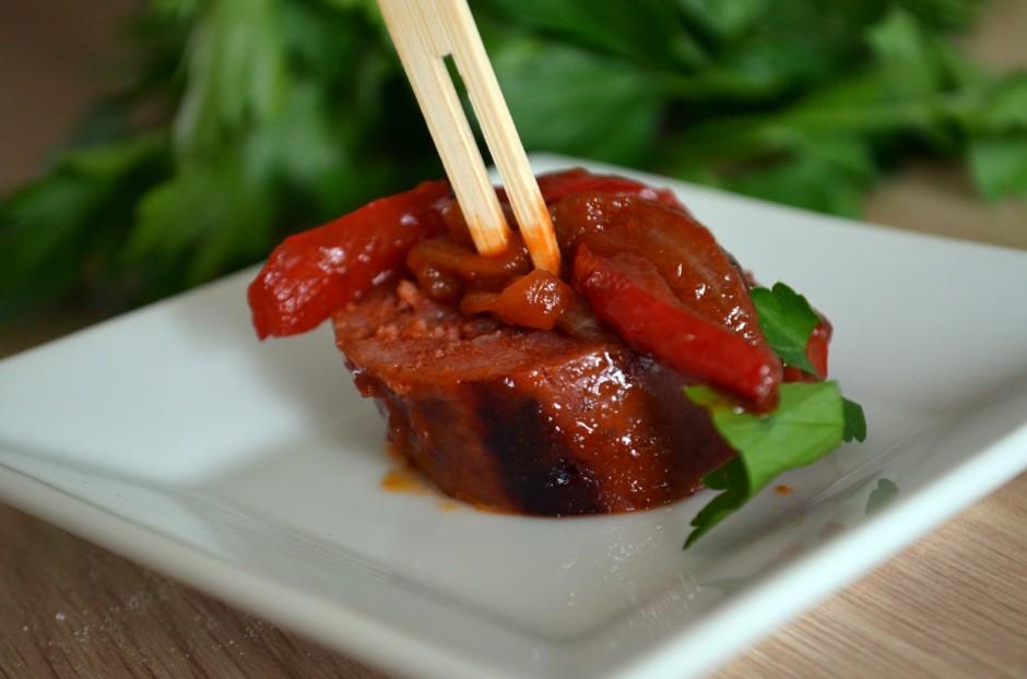 Chorizo au cidre basque