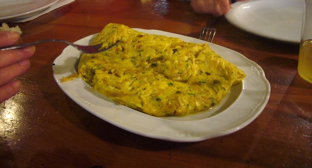 Omelette Cidrerie Rezola