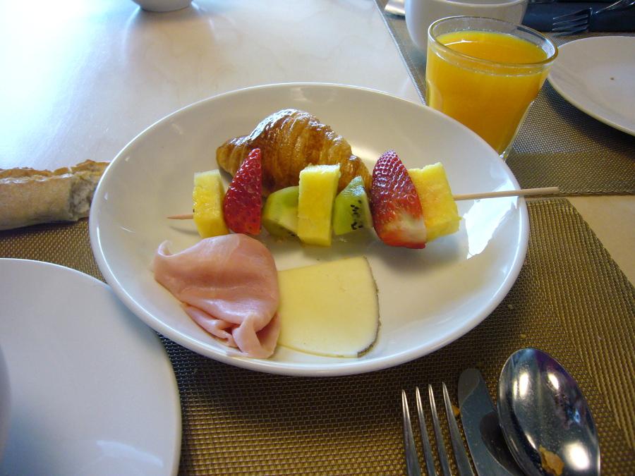 San Prudentzio Petit dejeuner