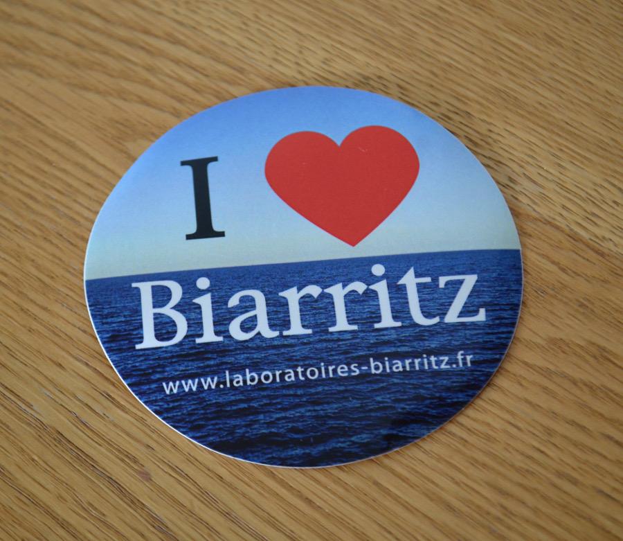 I love Biarritz