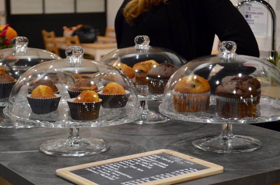 Ludi Cafe muffins