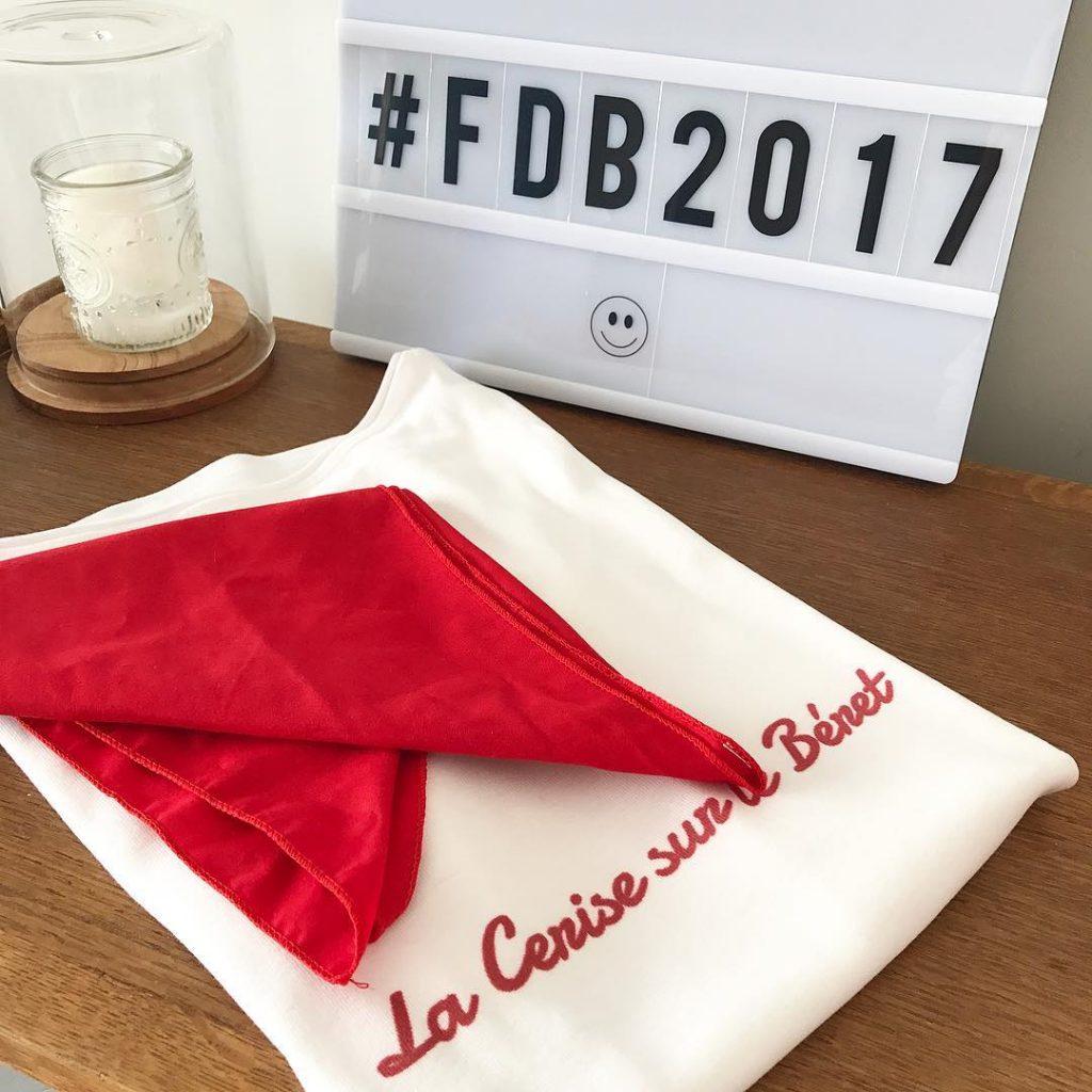 Prte ! fdb2017 bayonne baiona lacerisesurleberet blogueuse alcoolique cherchezcerise happyjeudihellip