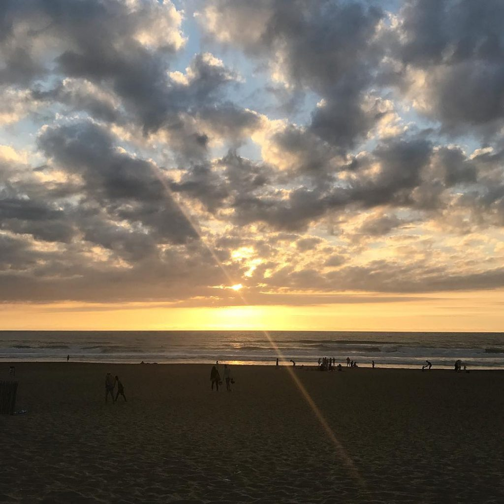 Profiter de sa soire anglet lamadrague plage beach cotebasque paysbasquehellip