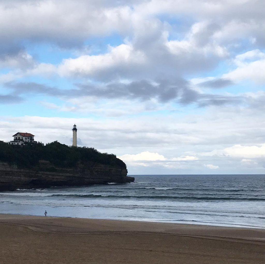 Le temps de la rentre anglet paysbasque cotebasque plage pharehellip