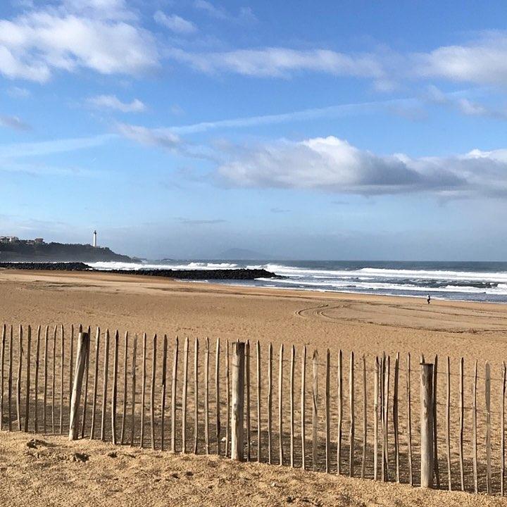 Pause iode anglet plage beach sea ocean phare sable novemberhellip