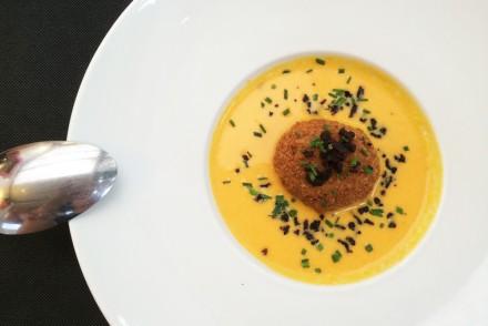 Restaurant Chez Nous Velouté de carottes