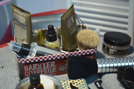 Barbier West matériel